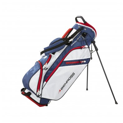 Prolite-stand White-Navy-Red
