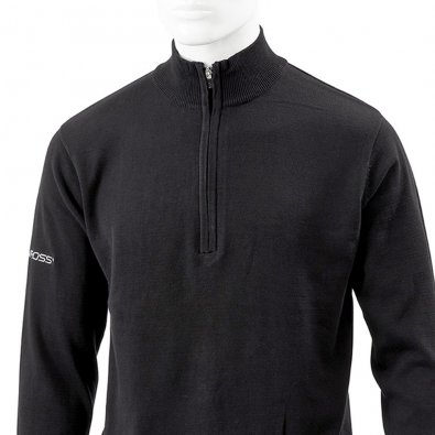bea858swr_pro-shell-x-zip-neck-sweater-black-front_1